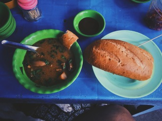 Beef-based soup in Ho Chi Minh city