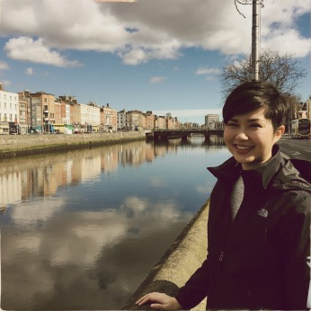 02-Walking along the liffey