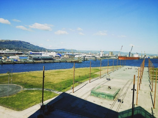 Views of the Harbour from Titanic Belfast