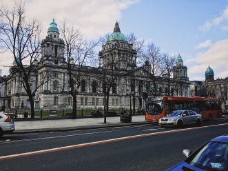 Belfast City Council in the morning