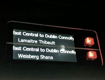Dublin Train to Belfast